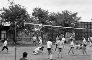 球技大会 昭和47年7月17日撮影