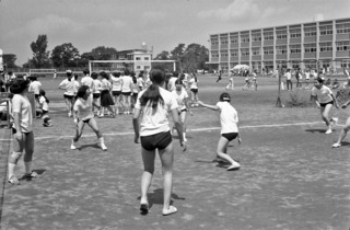 球技大会 昭和47年7月17日 撮影